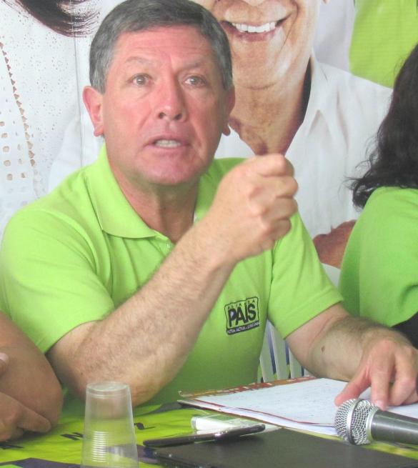 Representante.- Diego Landázuri fue nombrado como nuevo gobernador de la provincia.