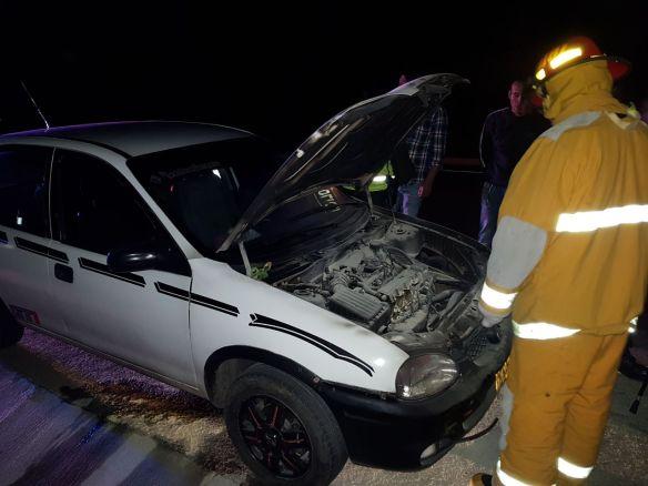 Incendio carro