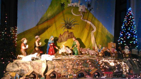 Pesebre iglesia Matriz San Gabriel