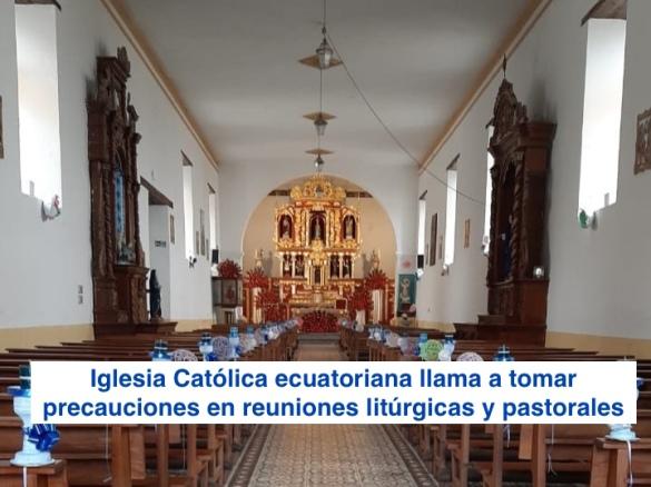 Iglesia Católica llama