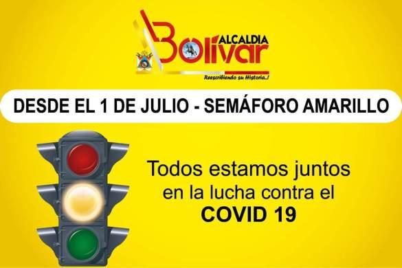 Gad Bolívar semáforo amarillo